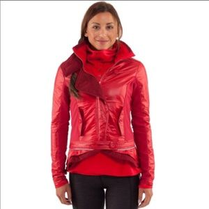 LULULEMON Power Petal Jacket in Currant Size 4
